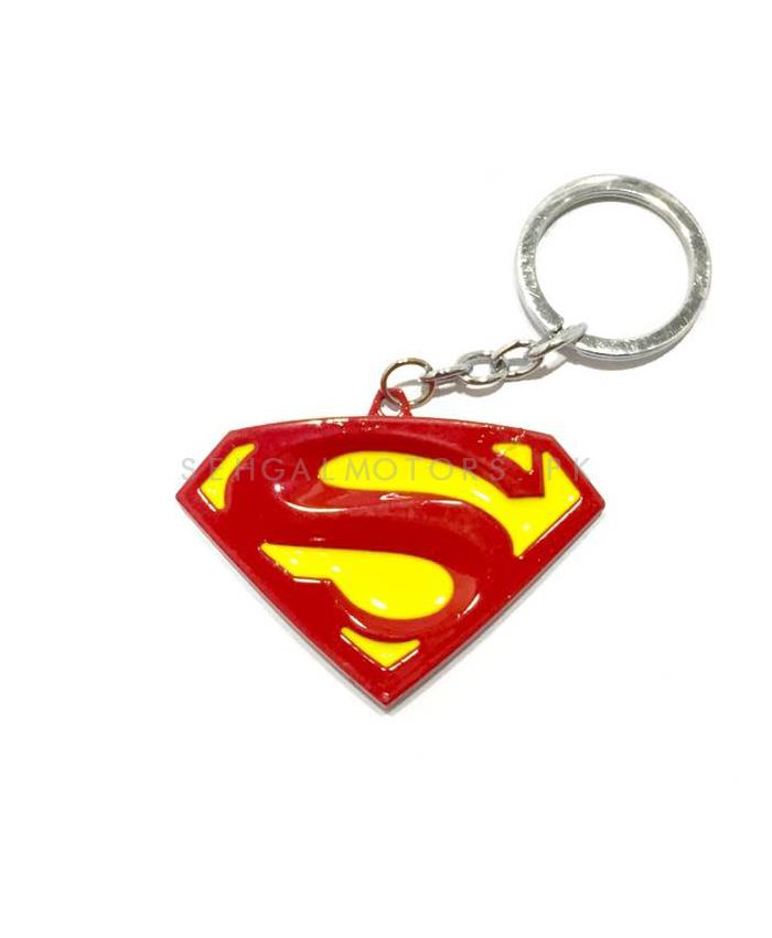 Super Man Key Chain / Key Ring - Red And Yellow-SehgalMotors.Pk