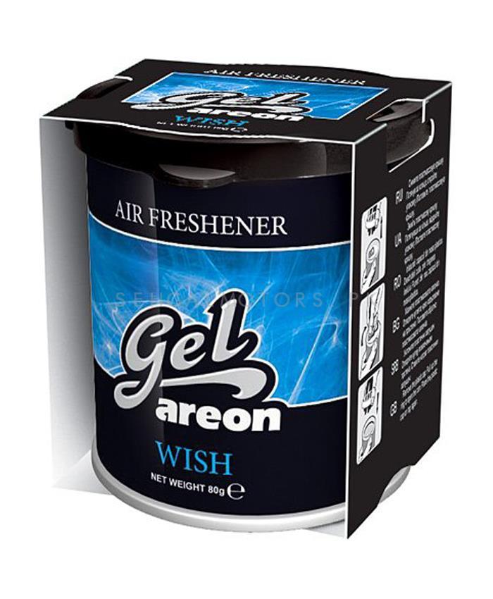 Areon Gel Car Perfume Long Lasting Fragrance Can Wish-SehgalMotors.Pk