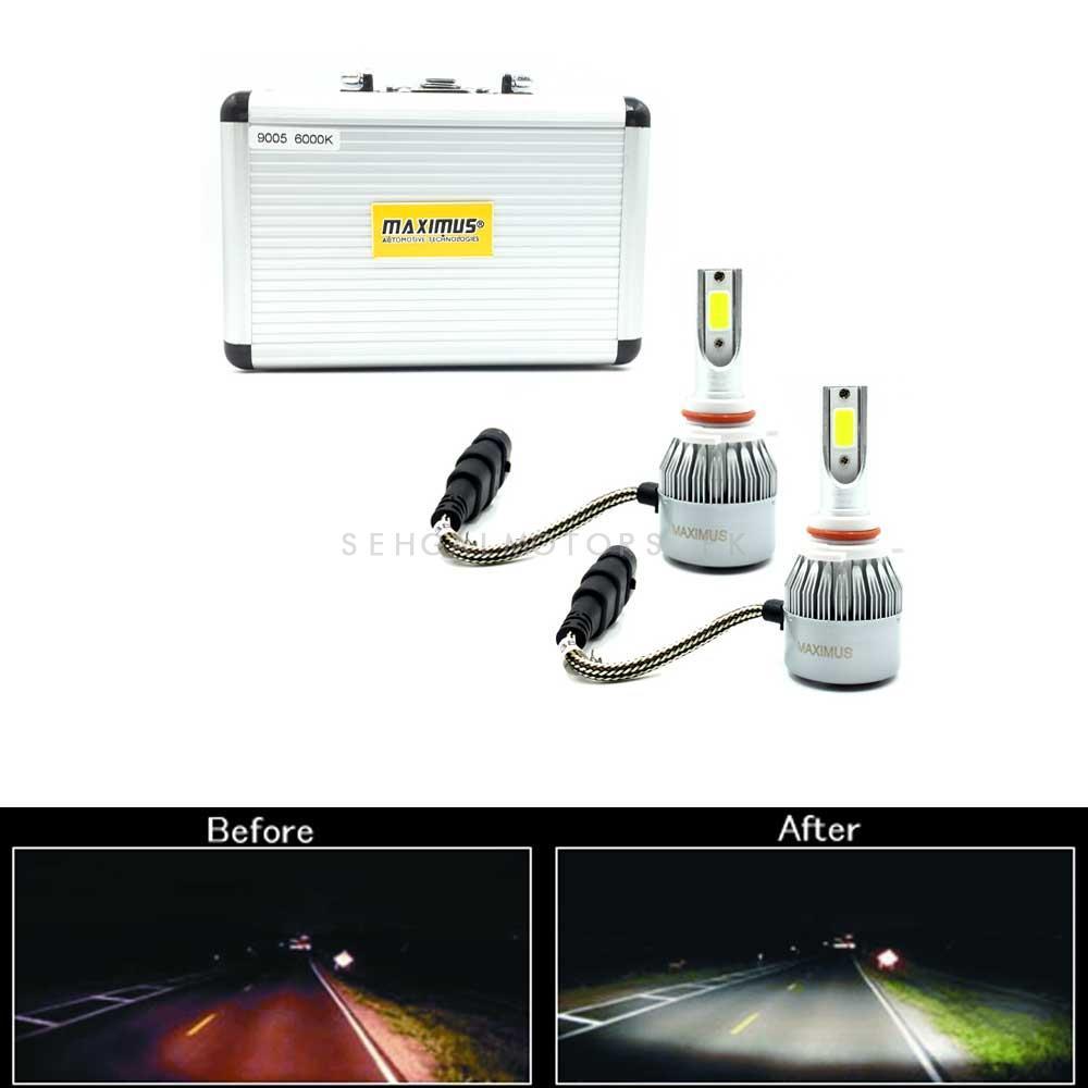 Maximus LED HID Extreme Vision | Super Bright Vision Night Breaker-SehgalMotors.Pk