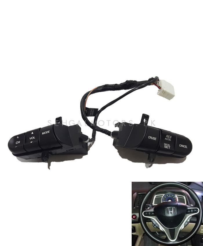 Honda Civic Multimedia Steering - Model 2012-2016-SehgalMotors.Pk