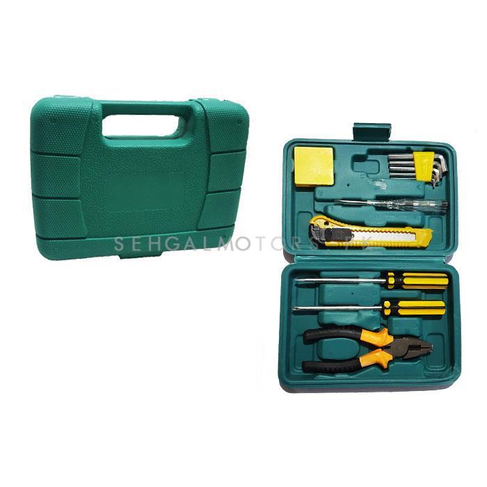 Tool Set Kit Tools House Hold 11PC | Tool Kit Electrician Repair Tool Set Auto Repair Tool Set Household Car Repair Tool Set-SehgalMotors.Pk