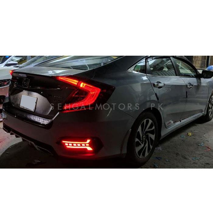 Honda Civic New Generation Rear Bumper Brake Lamp - Model 2016-2020-SehgalMotors.Pk
