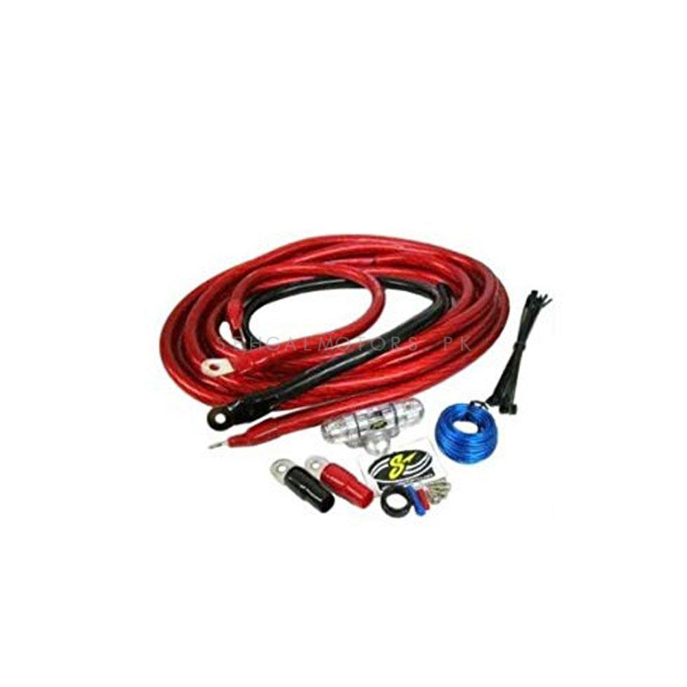 Stinger Amplifier Installation Kit - 8 Gauge | Car Power Amplifier Car Speaker Woofer Cables Amplifier Installation Kit For Automobile Subwoofer Set Line-SehgalMotors.Pk