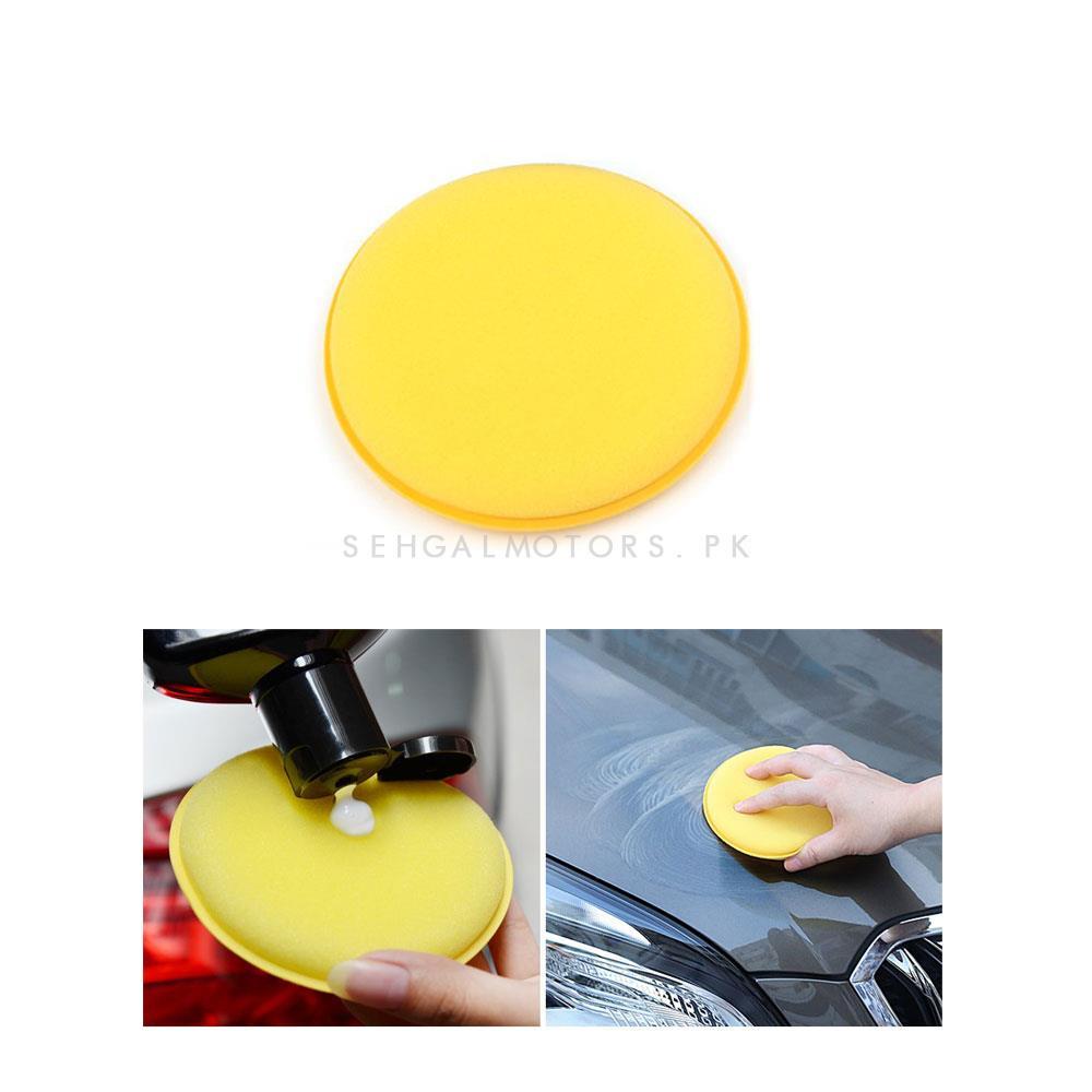 Maximus Premium Quality Applicator Pads 1 Piece   Sponge Applicator   Applicator Sponge  Cleaning Pad   Applicator Pad-SehgalMotors.Pk