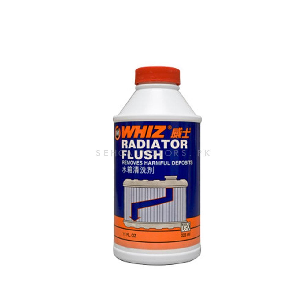 Whiz Radiator Flush - 325ml   Carbon Cleaner   Engine Cooling Care Product   Radiator Cleaner   Clean Cooling System-SehgalMotors.Pk