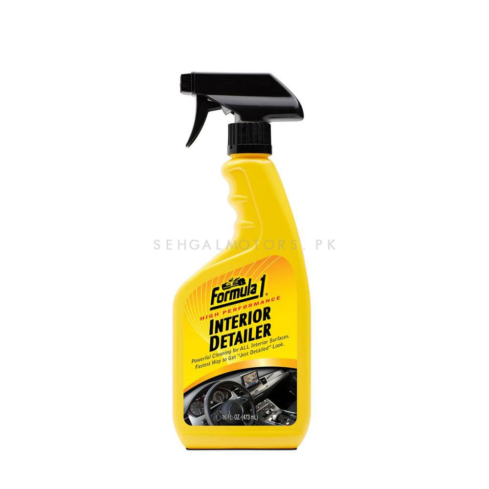 Formula 1 Interior Detailer Cleaner | Dashboard Cleaner | Car Cleaning Product | Protect Interior | Car Care | For Interior Shining-SehgalMotors.Pk