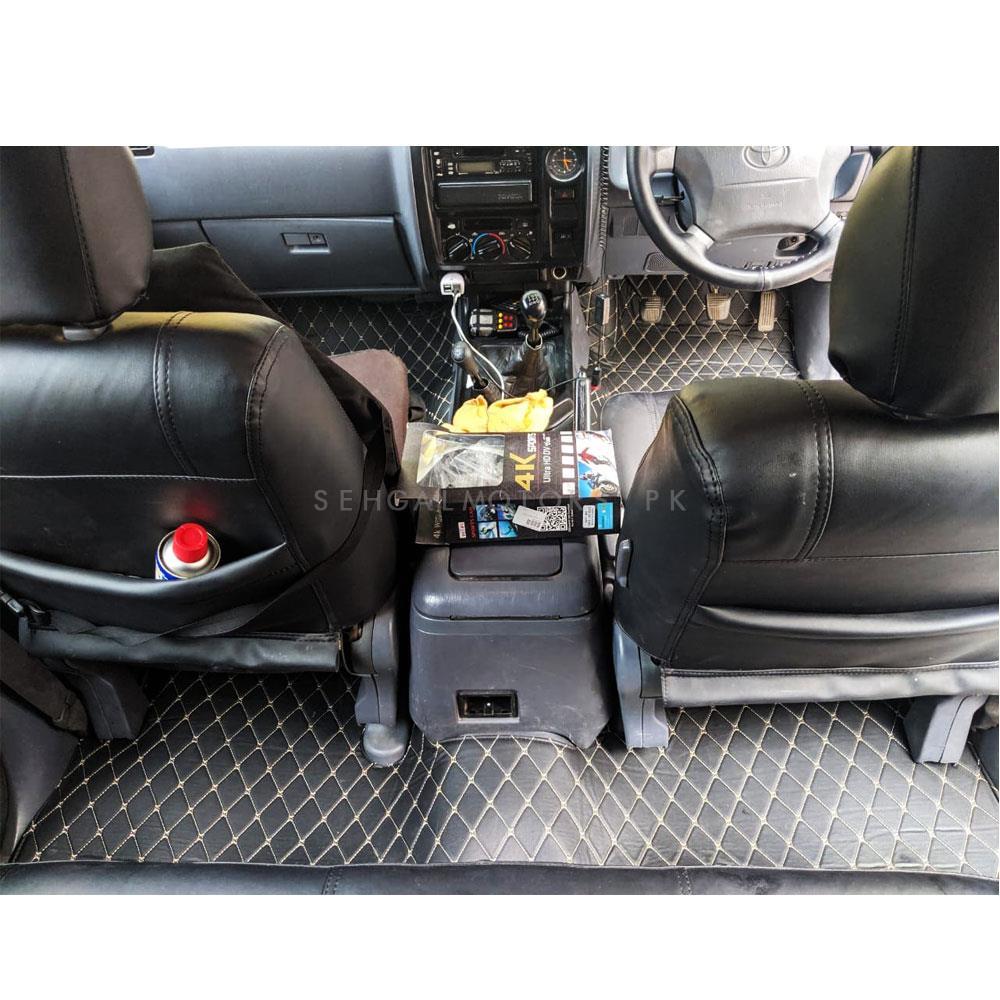 Toyota Prado 7D Floor Matting Black - Model 1996-2002-SehgalMotors.Pk