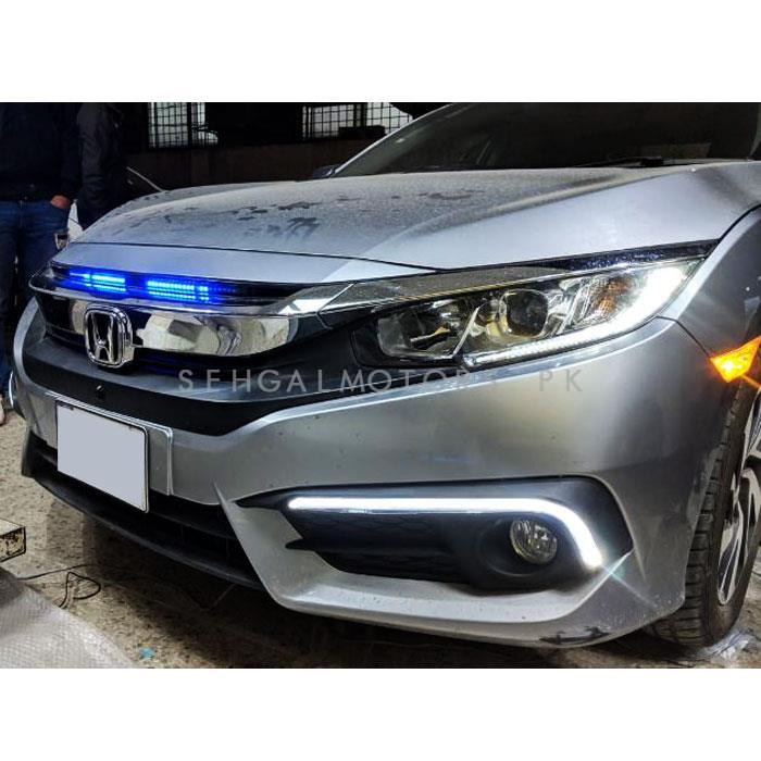Car Grille Strip Multi Colors Knight Rider With Remote | Hundreds of Functions-SehgalMotors.Pk