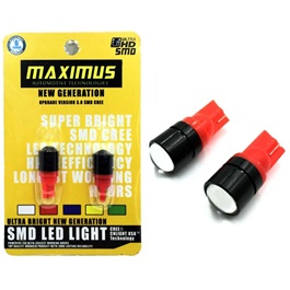 Maximus SMD Projection Parking Light Red – Pair-SehgalMotors.Pk