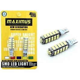 Maximus SMD 68 Parking Light White - Pair | Led Light Bulb For Parking | SMD Car Exterior Lamps Parking Lights Car Accessories-SehgalMotors.Pk