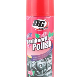 DG Dashboard Polish Rose 450ml - Red | Dashboard Cleaner | Interior Cleaner Polish For Dashboard | Automobile Panel Dashboard Wax Cleaner-SehgalMotors.Pk