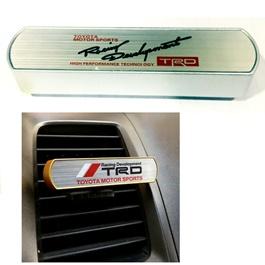TRD High Performance Grill AC Car Perfume Fragrance Chrome-SehgalMotors.Pk