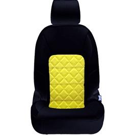 Honda City Seat Covers Black Yellow Design 2 - Model 2015-2017-SehgalMotors.Pk