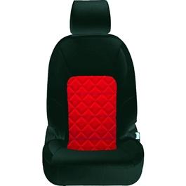 Honda City Seat Covers Black Red Design 2 - Model 2015-2017-SehgalMotors.Pk