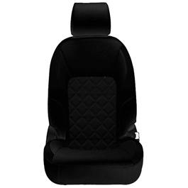 Honda City Seat Covers Black Design 3 - Model 2015-2017-SehgalMotors.Pk