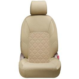 Toyota Corolla Seat Covers Beige Design 3 - Model 2014-2017-SehgalMotors.Pk