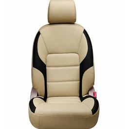 Honda Civic Seat Covers Beige Black - Model 2016-2020-SehgalMotors.Pk