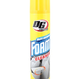 DG Foam Cleaner 650ml - Yellow | | Multi Purpose Foam Cleaner For Carpet And Upholstery| Universal All Purpose Cleaner -SehgalMotors.Pk