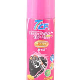 7CF Leather & Tire / Tyre Wax Strawberry  450ml - Pink-SehgalMotors.Pk