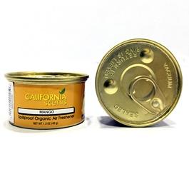 California Scents Mango Organic Gel Car Perfume Fragrance-SehgalMotors.Pk
