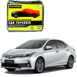 Toyota Corolla Face Lift Maximus Non Woven Scratchproof Waterproof Top Cover - Model 2017-2020-SehgalMotors.Pk