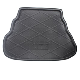 Honda City Foam Trunk Mats Black - Model 2008-2020 | Trunk Boot Liner | Cargo Mat Floor Tray | Trunk Protection Mat | Trunk Tray Cover Pad-SehgalMotors.Pk