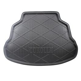 Toyota Corolla Foam Trunk Mats Black - Model 2014-2017-SehgalMotors.Pk