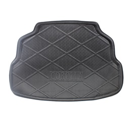 Toyota Corolla Foam Trunk Mats Black - Model 2008-2014-SehgalMotors.Pk
