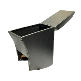Toyota Vitz Arm Rest Black | Center Console | Elbow Rest Arm Holder | | Center Console Storage Box-SehgalMotors.Pk
