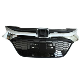 Honda Vezel Chrome Grille - Model 2013-2017 | Front Grille For Vezel | Vezel Grille | Chrome Front Grille | New Style Grille | Chrome Car Front Up Grille | Decoration Trim Grille Bar For Honda Vezel-SehgalMotors.Pk