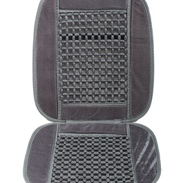 Small Pearl Summer Seat Covers Set | For Back Pain Relief | Best For Summer | Control Sweating-SehgalMotors.Pk