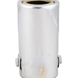 Bend Exhaust Tip - 2.5 Inch | Tip Pipe | Exhaust Tail | Stainless Steel Exhaust Tip | Outlet Exhaust Pipe-SehgalMotors.Pk