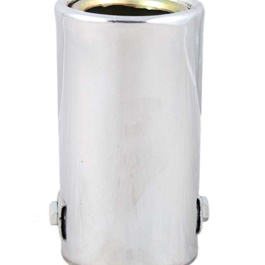 Small Circular Rolled Exhaust Tip - 1 Inch | Exhaust Tail | Stainless Steel Exhaust Tip | Outlet Exhaust Pipe-SehgalMotors.Pk