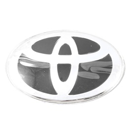 Toyota Steering Logo - Black   Emblem   Decal   Monogram   Logo-SehgalMotors.Pk