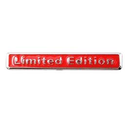 Limited Edition Metal Logo Red   Emblem   Decal   Monogram   Logo-SehgalMotors.Pk