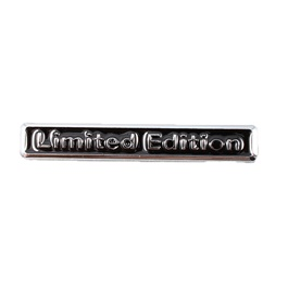 Limited Edition Black Chrome   Emblem   Decal   Monogram   Logo-SehgalMotors.Pk