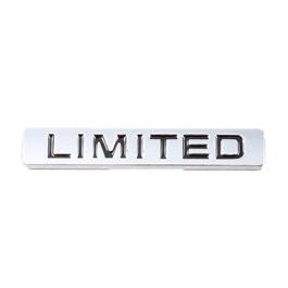 Limited Metal Logo Silver Black | Emblem | Decal | Monogram | Logo-SehgalMotors.Pk