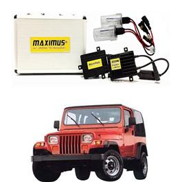 Jeep Wrangler Maximus 200W HID 6000 Lumens - Model 1987 - 1995-SehgalMotors.Pk