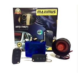Maximus Car Alarm System Jack knife  | Car Alarm Vehicle System Protection Security System Keyless Entry | Water Proof | Security System-SehgalMotors.Pk