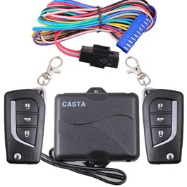 Car Key Less Entry System - NK370 - Half Kit | Car Remote Central Door Lock Keyless System Central Locking with Remote Control Car Alarm Systems Auto Remote Central Kit -SehgalMotors.Pk