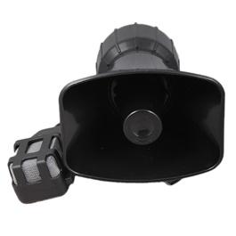 Police Siren Mic Durable Horn - AZ803 | Hooter | Tone Sound Car Emergency Siren Car Siren Horn Mic PA Speaker System Emergency Amplifier Hooter-SehgalMotors.Pk