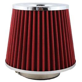Simota Cold Air Intake Filter Red - Universal  | Universal Car Air Filter Vehicle Induction High Power Mesh | Auto Cold Air Hood Intake-SehgalMotors.Pk