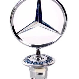 Mercedes Metal Emblem - Original   Emblem   Decal   Monogram   Logo-SehgalMotors.Pk