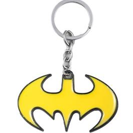 Batman Metal Key Chain / Key Ring - Yellow | Key Chain Ring For Keys | New Fashion Creative Novelty Gift Keychains-SehgalMotors.Pk