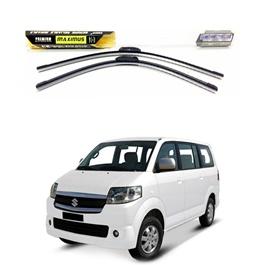 Suzuki APV Maximus Premium Silicone Wiper Blades - Pair-SehgalMotors.Pk