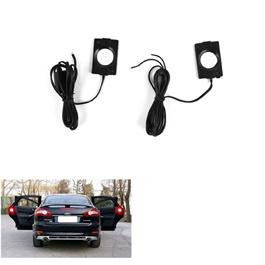 Tesla Style Door Warning Lights - Pair | Universal LED Car Opening Door Safety Warning Anti-collision Lights Magnetic Sensor Strobe Flashing Alarm Lights Parking Lamp-SehgalMotors.Pk