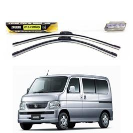 Honda Acty-Basegrade Maximus Premium Silicone Wiper Blades - Pair - Model 1999-2009-SehgalMotors.Pk