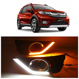 Honda BRV Fog Lamps / Fog Lights DRL Covers Dual - Model 2017-2019-SehgalMotors.Pk