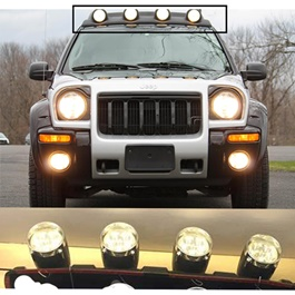 Jeep Round Roof Light 4 in 1 20SMD-SehgalMotors.Pk