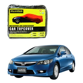 Honda Civic Hybrid Maximus Non Woven Scratchproof Waterproof Top Cover - Model 2006-2012